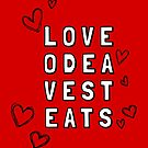 Love Odea Vest Eats by alannarwhitney