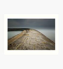 The Cobb Lyme Regis Art Print