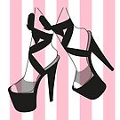 Pleaser Shoes - Salmon Pink by itszoesmith