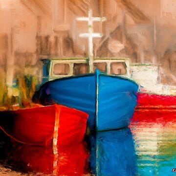 Fishing Boats by kenmo