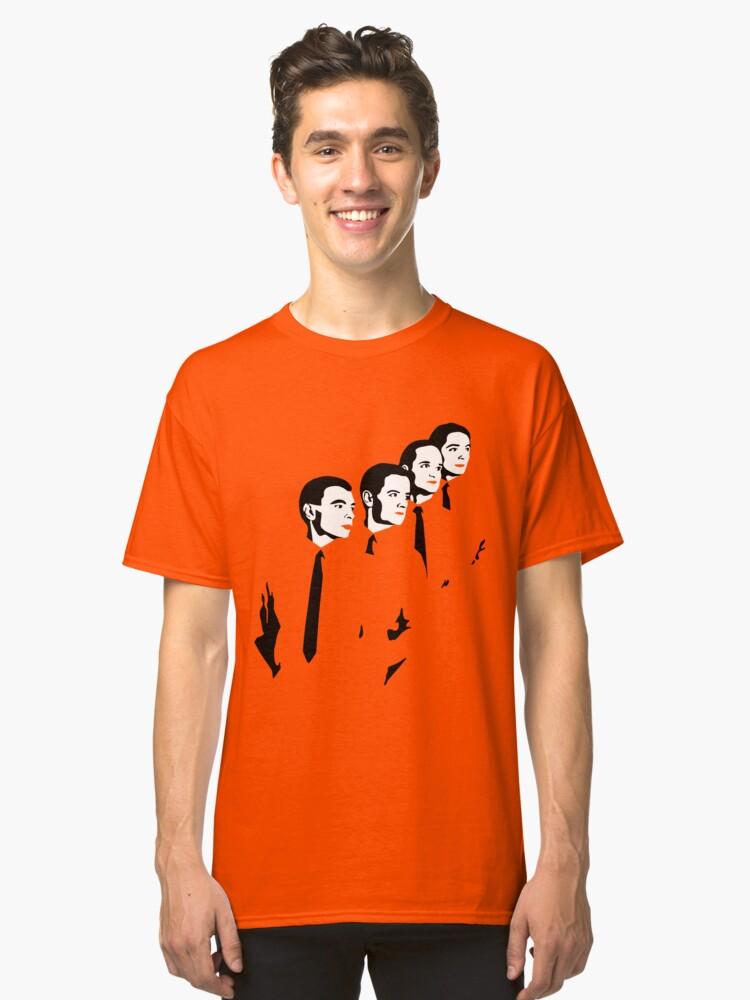 Man Machine Classic T-Shirt Front