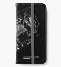 axonometric black 2 iPhone Wallet/Case/Skin