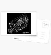 axonometric black 2 Postcards