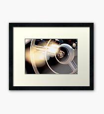 Classic Porsche Steering Wheel detail Framed Print