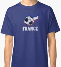 France French Football Soccer World Championship Cup Russia 2018 Classic T-Shirt