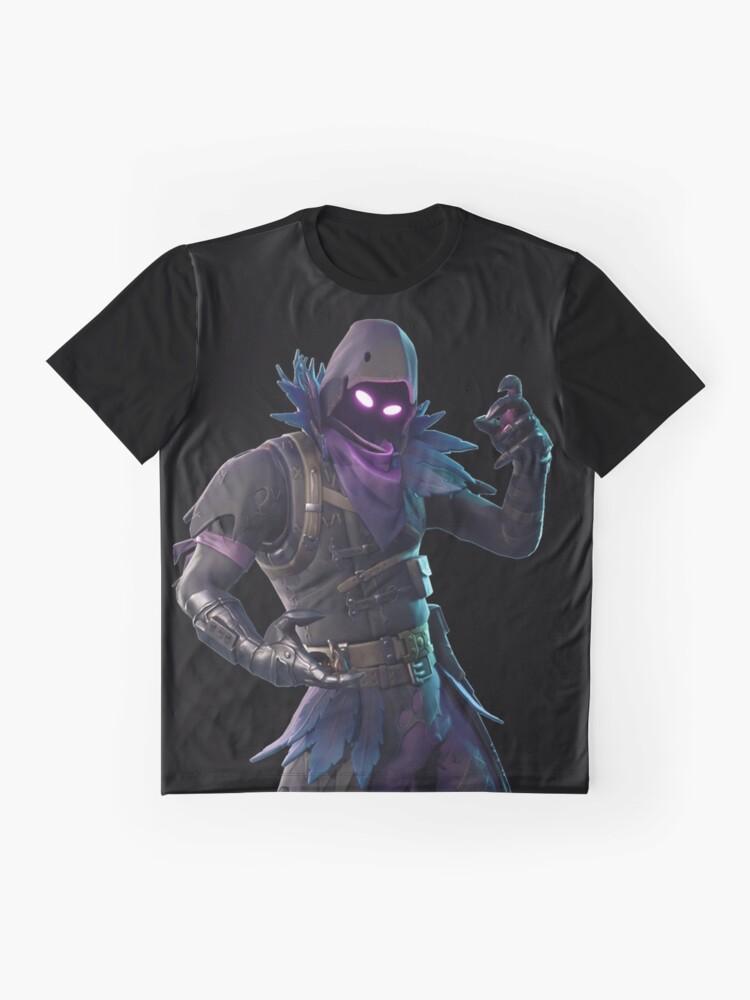 Vista alternativa de Camiseta gráfica Cuervo