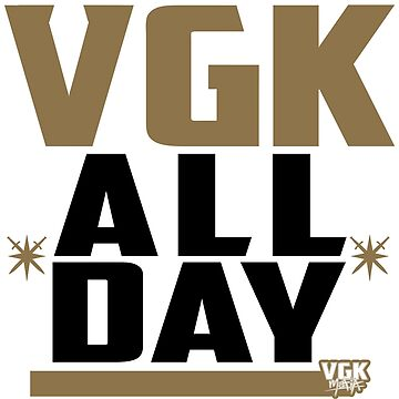 ALL-DAY: gold/black on white by VGKmafia