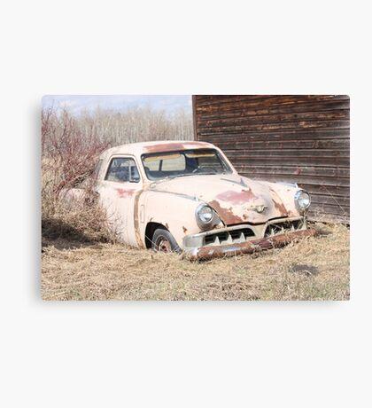 Hidden Treasure - 1953 Studebaker Coupe Canvas Print