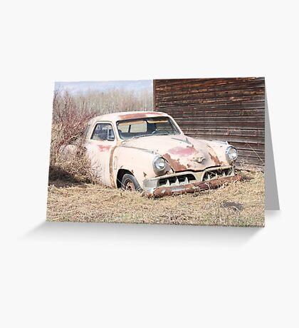 Hidden Treasure - 1953 Studebaker Coupe Greeting Card