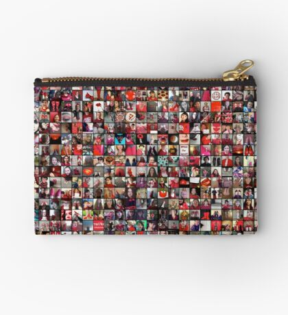 #WalkInRed2015 Large Collage Studio Pouch