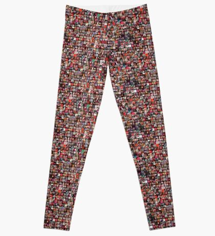 #WalkInRed2015 Large Collage Leggings