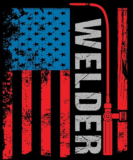 Quot Welding Vintage American Flag Woodworking Gifts