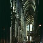 Nave Cathedral Koln Germany 19840902 0009  by Fred Mitchell