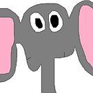 Face Like an Elephant by Gabe-Draws