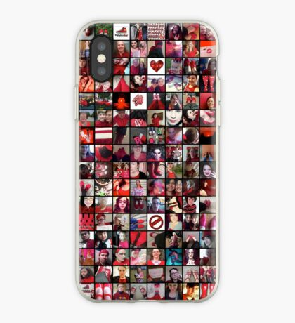 #WalkInRed2015 Collage A iPhone Case