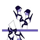 Purple Pleasers design  by itszoesmith