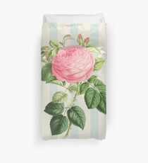 Vintage/ Victorian Style - Shabby Chic Pink Rose  Duvet Cover