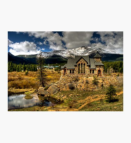 Church on the Hill Photographic Print