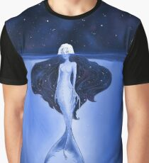 Narina - Deep Water Mermaid Graphic T-Shirt