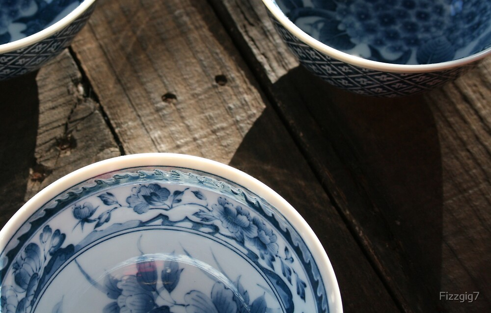 3 Rice Bowls by Fizzgig7