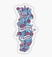 TRIDENT TRANS Sticker