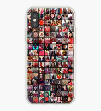 #WalkInRed2015 Collage B iPhone Case