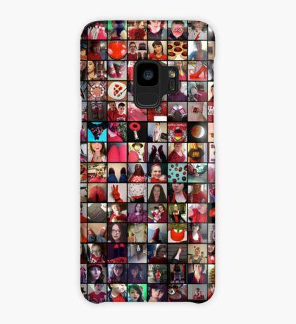 #WalkInRed2015 Collage B Case/Skin for Samsung Galaxy