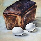 Black Bread and Boiled Eggs – a student's meal by Oleg Atbashian