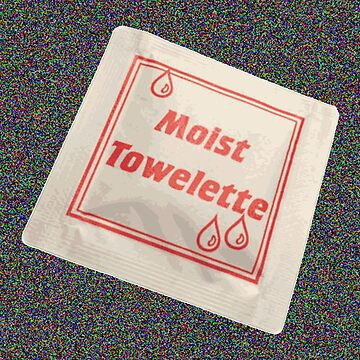 Moist Towelette by pocketsoup