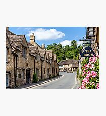 Tea Rooms, Castle Coombe, Wiltshire Photographic Print