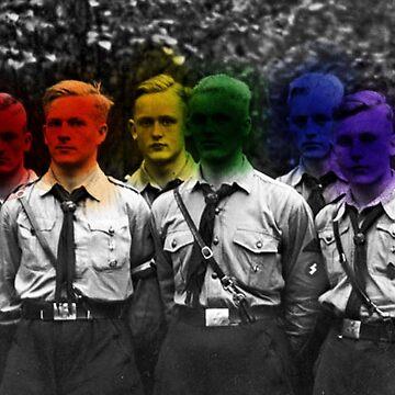 Homoerotic Nazis by tadrake