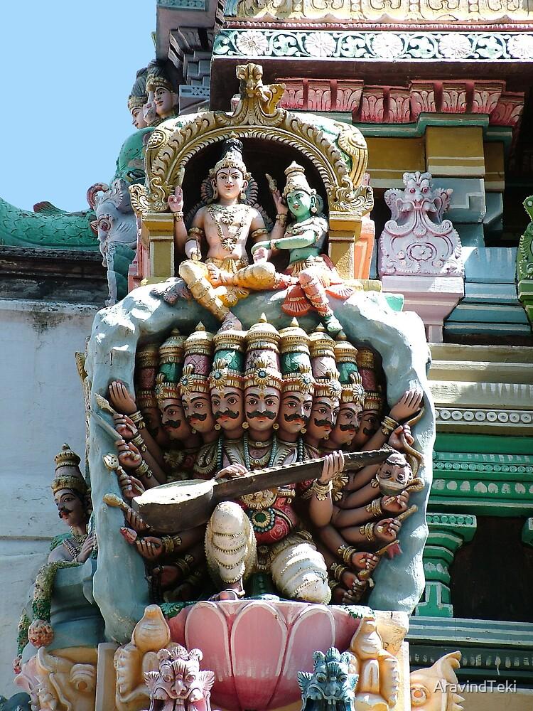 Hindu Deities, India by AravindTeki