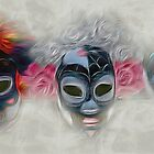 Three Masks by CarolM