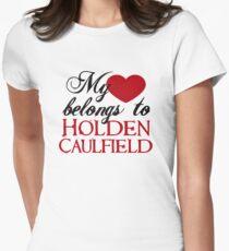 My Heart Belongs To Holden Caulfield Womens Fitted T-Shirt