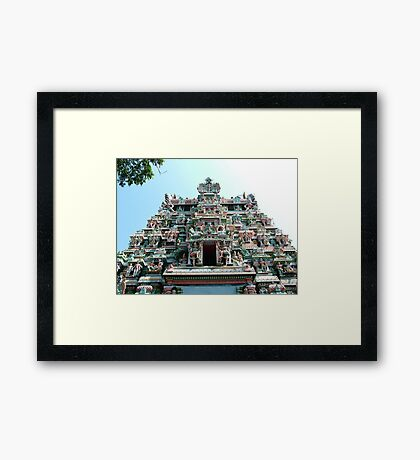 Sri Meenakshi Amman Temple, India Framed Print