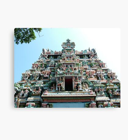 Sri Meenakshi Amman Temple, India Canvas Print