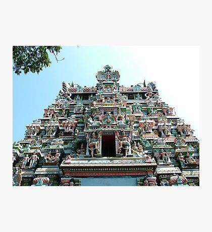 Sri Meenakshi Amman Temple, India Photographic Print