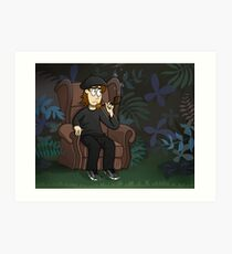 Recliner In The Jungle Art Print
