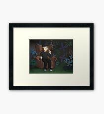 Recliner In The Jungle Framed Print