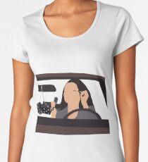Fran in a car Women's Premium T-Shirt