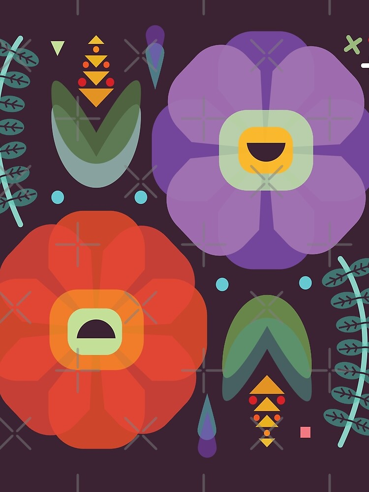 Flowerfully Folk by lisajaynemurray