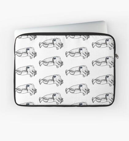 Friendly Cuttlefish Laptop Sleeve