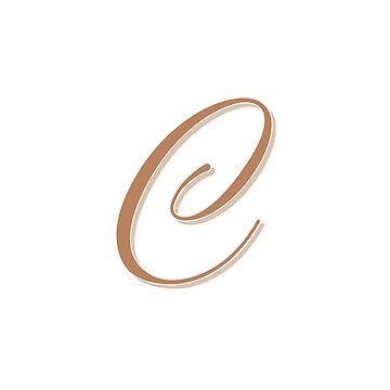 Gold Elegant Monogram - C by artbachelor
