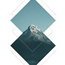 Geometric Moutain by Lordesigns