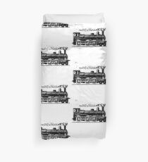 Vintage European Train  Duvet Cover