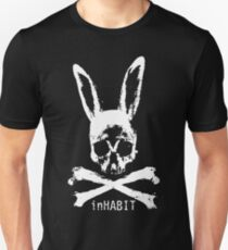 ...and so we inHABIT. (white) Slim Fit T-Shirt