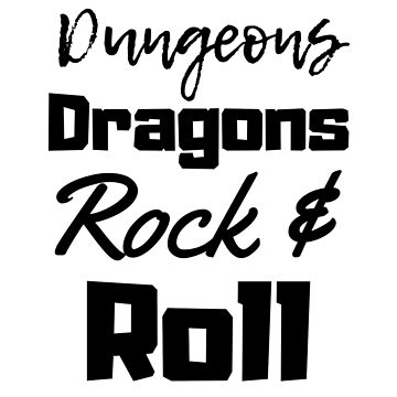 Dungeons Dragons Rock and Roll! by Role2Play