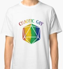 Chaotic Gay d20 Classic T-Shirt