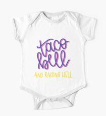 Taco Bell und aufgehende Hölle Baby Body Kurzarm