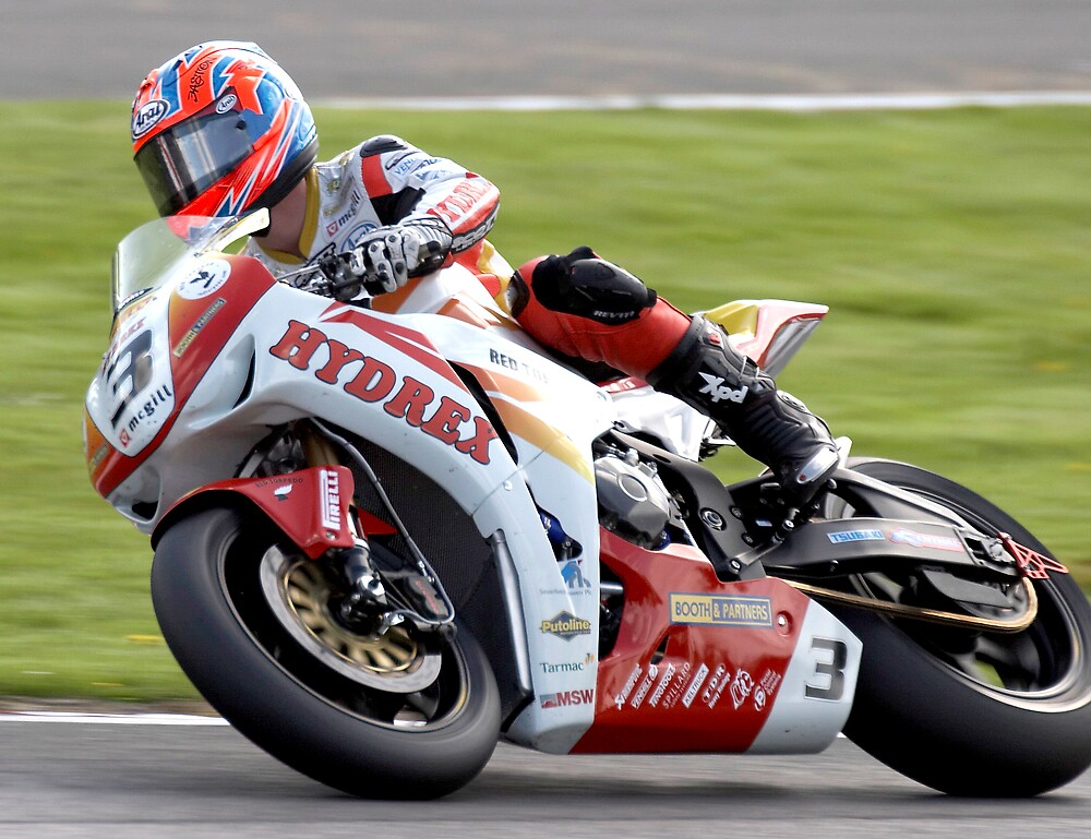 Stuart Easton - British Superbikes by Ann-Marie Metcalfe